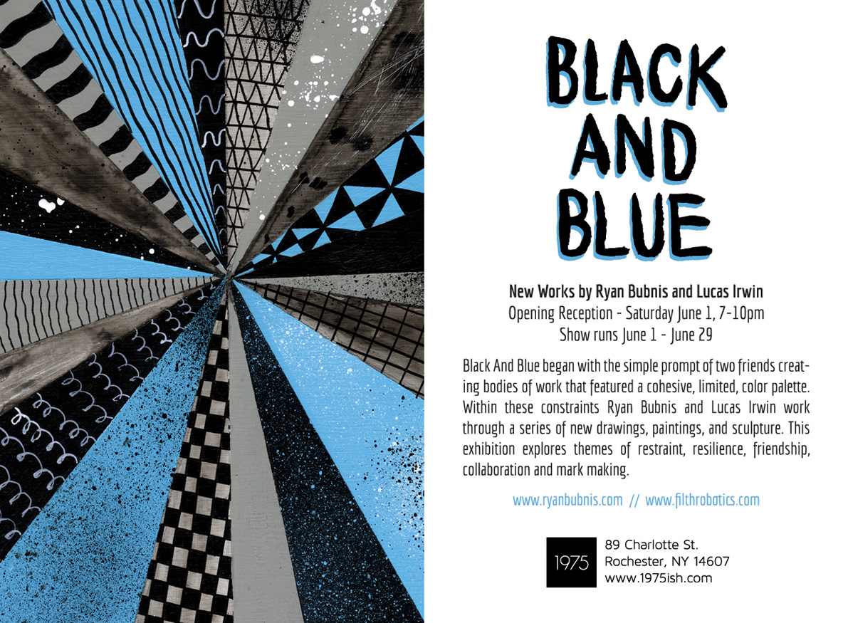 BLACK AND BLUE - Ryan Bubnis and Lucas Irwin